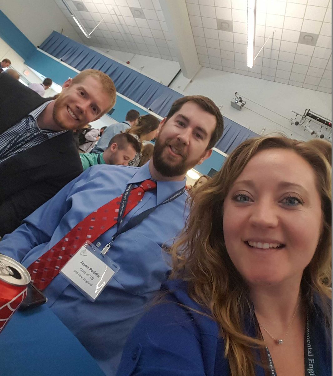 Noah Chinburg, NHDOT; Jason Peddle, SPS New England, Inc.; Katie Andruchuk, A&M