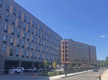 Completion of Transit Oriented Hotel and Residences in Roxbury