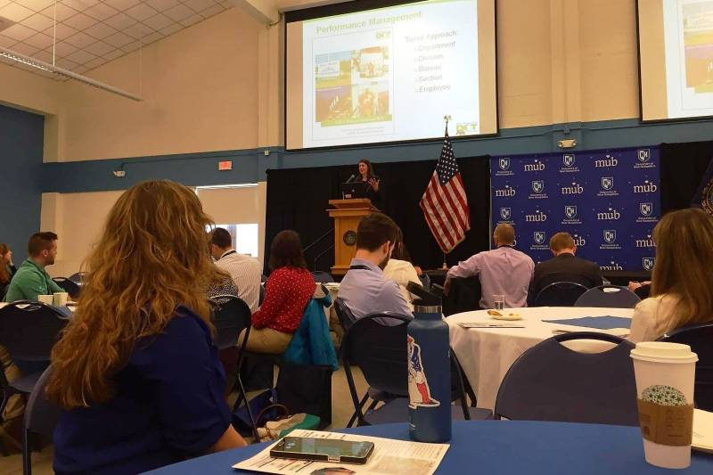 A&M's Katherine Andruchuck, EIT attends UNH Civil and Environmental Engineering Alumni Conference
